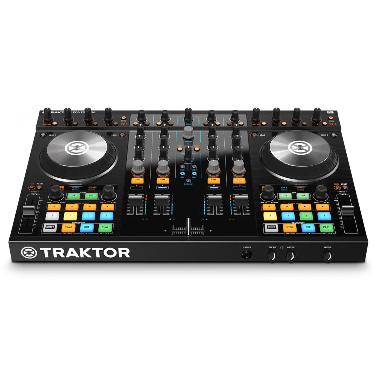 DJ CONTROLLER CON SCHEDA AUDIO