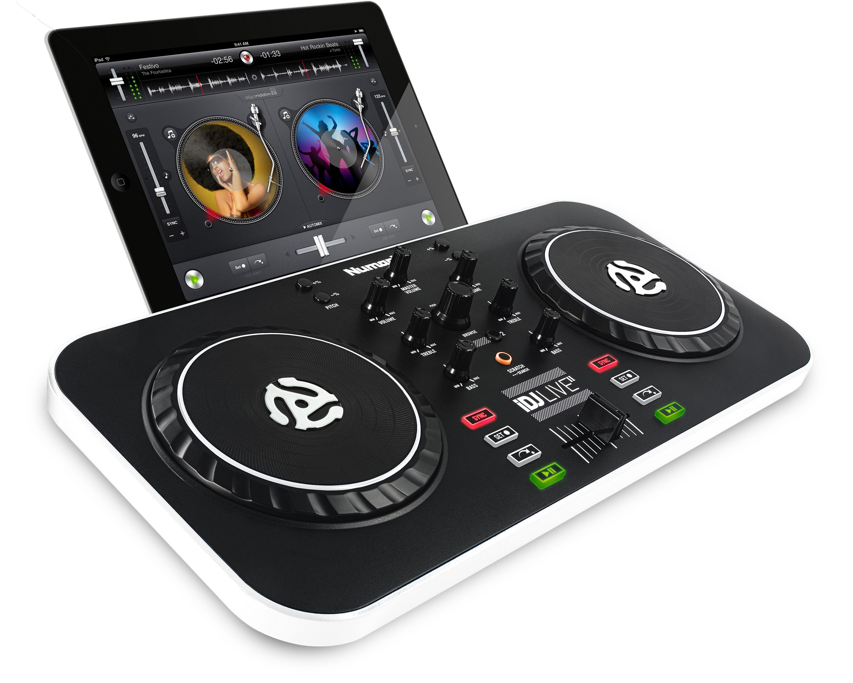 DJ CONTROLLER IOS IPAD / IPHONE