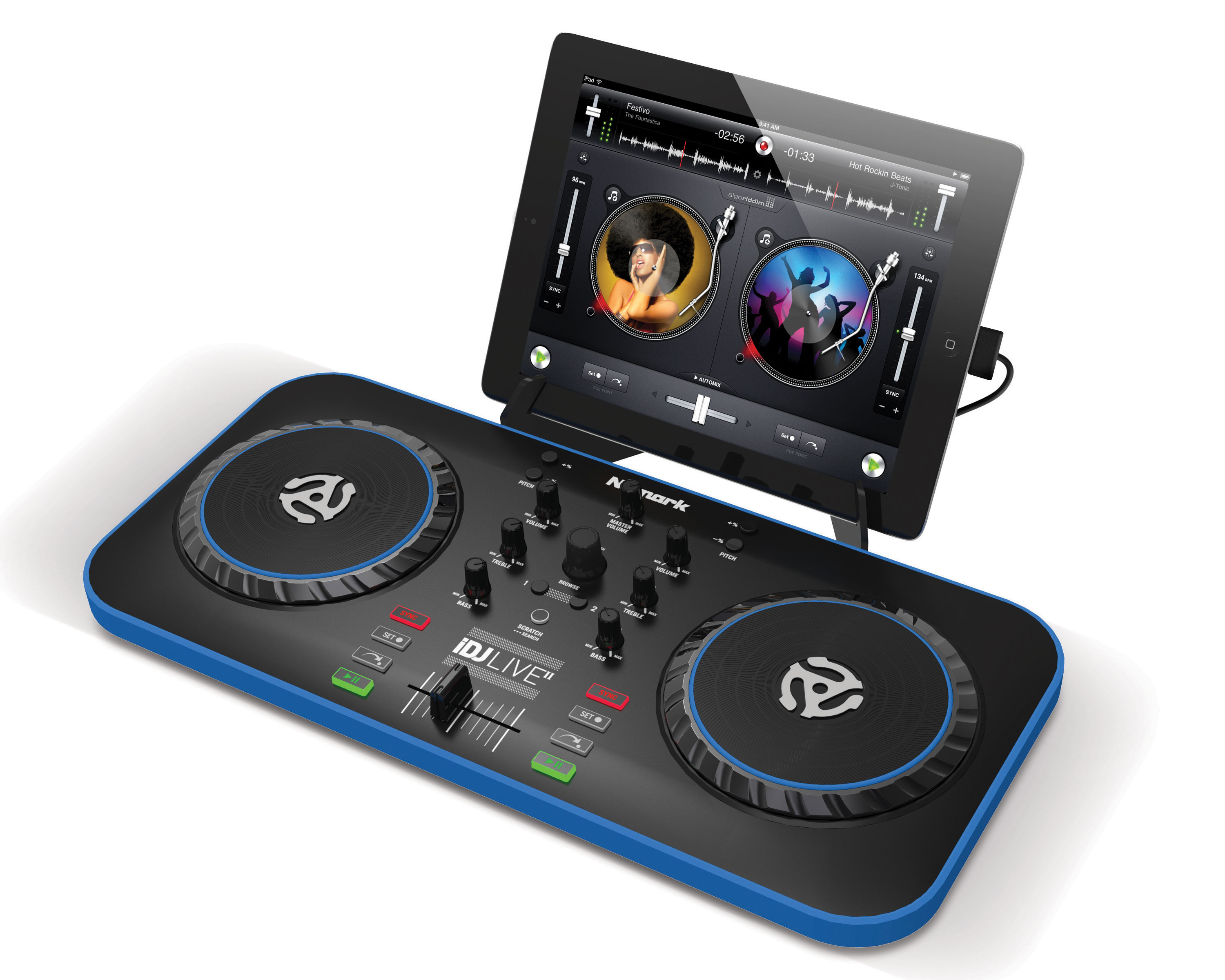 DJ CONTROLLER IPAD/IPHONE