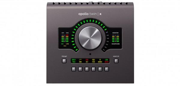 UNIVERSAL AUDIO APOLLO TWIN X QUAD (TWINXQUAD) - IN OMAGGIO Analog Classics Pro Bundle + Antares Auto-Tune (Eur 1298) fino al 31/12/2019