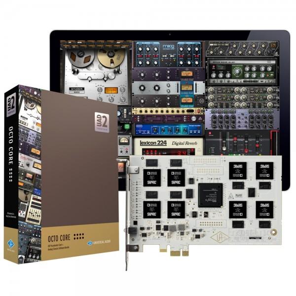 UNIVERSAL AUDIO UAD-2 OCTO CUSTOM - IN OMAGGIO $1196 DI PLUG-INS FINO AL 31/03