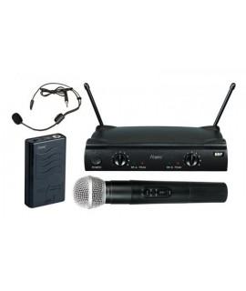 PRO-SHOW VHF252C - COMBO PACK ARCHETTO + GELATO (MICROFONO SENZA FILI)