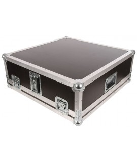 ALLEN & HEATH QU-24 (QU24) CHROME FLIGHT CASE