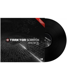 NATIVE INSTRUMENTS TRAKTOR SCRATCH - CONTROL VINYL MKII (BLACK)