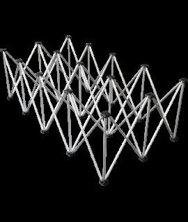 LITESTAGE LTR2120 - Struttura telescopica per Pedana 2X1 h20 cm - MADE IN ITALY