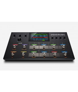HEADRUSH LOOPERBOARD - LOOPER 4 TRACCE STEREO - DISPLAY TOUCH