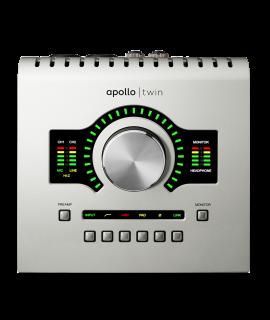 UNIVERSAL AUDIO APOLLO TWIN DUO USB - SOLO PER SISTEMI WINDOW - IN OMAGGIO FINO AL 30/06 PLUG-IN BUNDLE DAL VALORE DI 749 Euro!!!