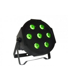 Faro Par 64 Led SLIM Atomic4DJ Serie EC 7*10Watt 4in1