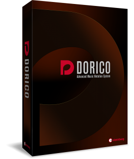 STEINBERG DORICO PRO 2 - EDUCATIONAL - SOFTWARE DI NOTAZIONE MUSICALE - CROSSGRADE DA FINALE & SIBELIUS