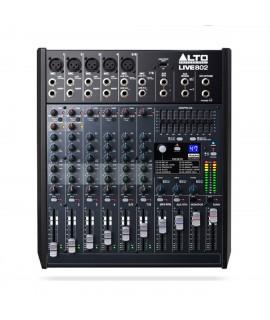 ALTO LIVE 802 - LIVE MIXER CON FX + EQ GRAFICO