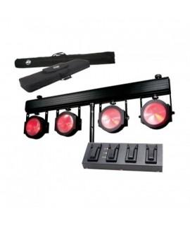 AMERICAN DJ Dotz TPAR System TRI LED COB DA 30W + Pedaliera + Stativo